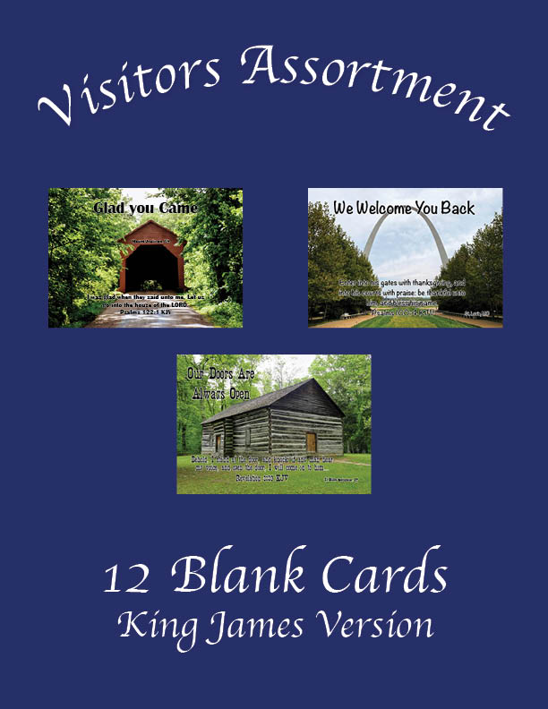 """Featured image for """"Visitors Assortment (Pack 2) – 12 Cards"""""""