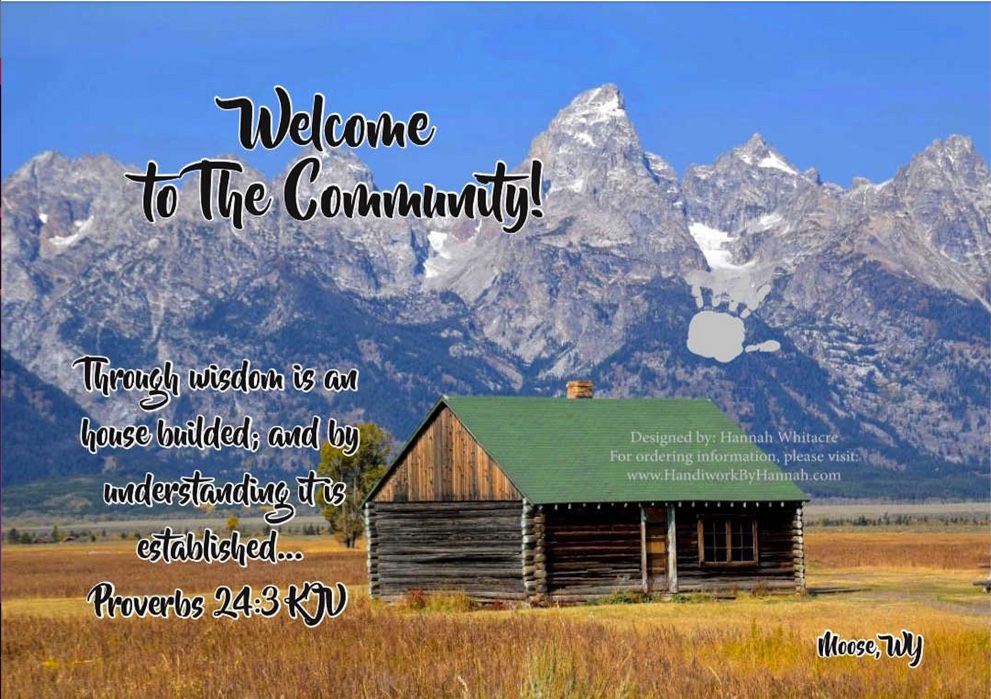 """Featured image for """"Log Cabin (CARD-0041) – 10 Cards"""""""