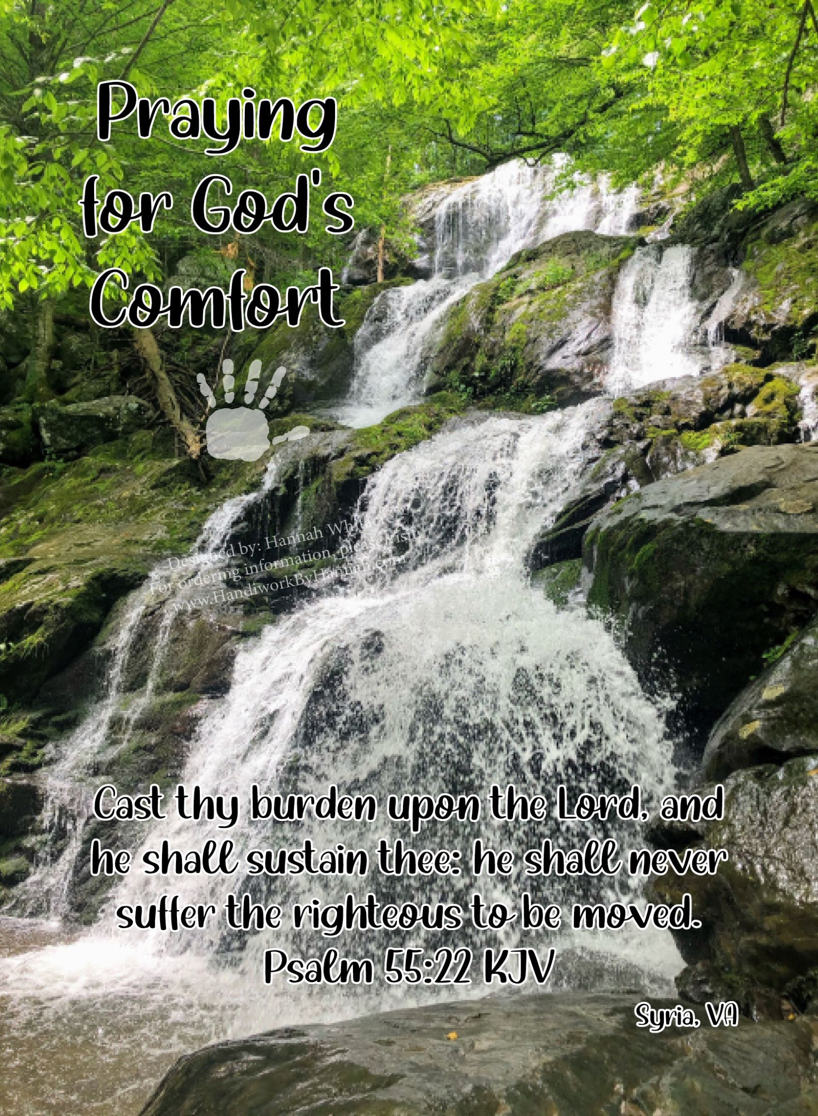 """Featured image for """"Waterfall 2 (CARD-0053) – 10 Cards"""""""