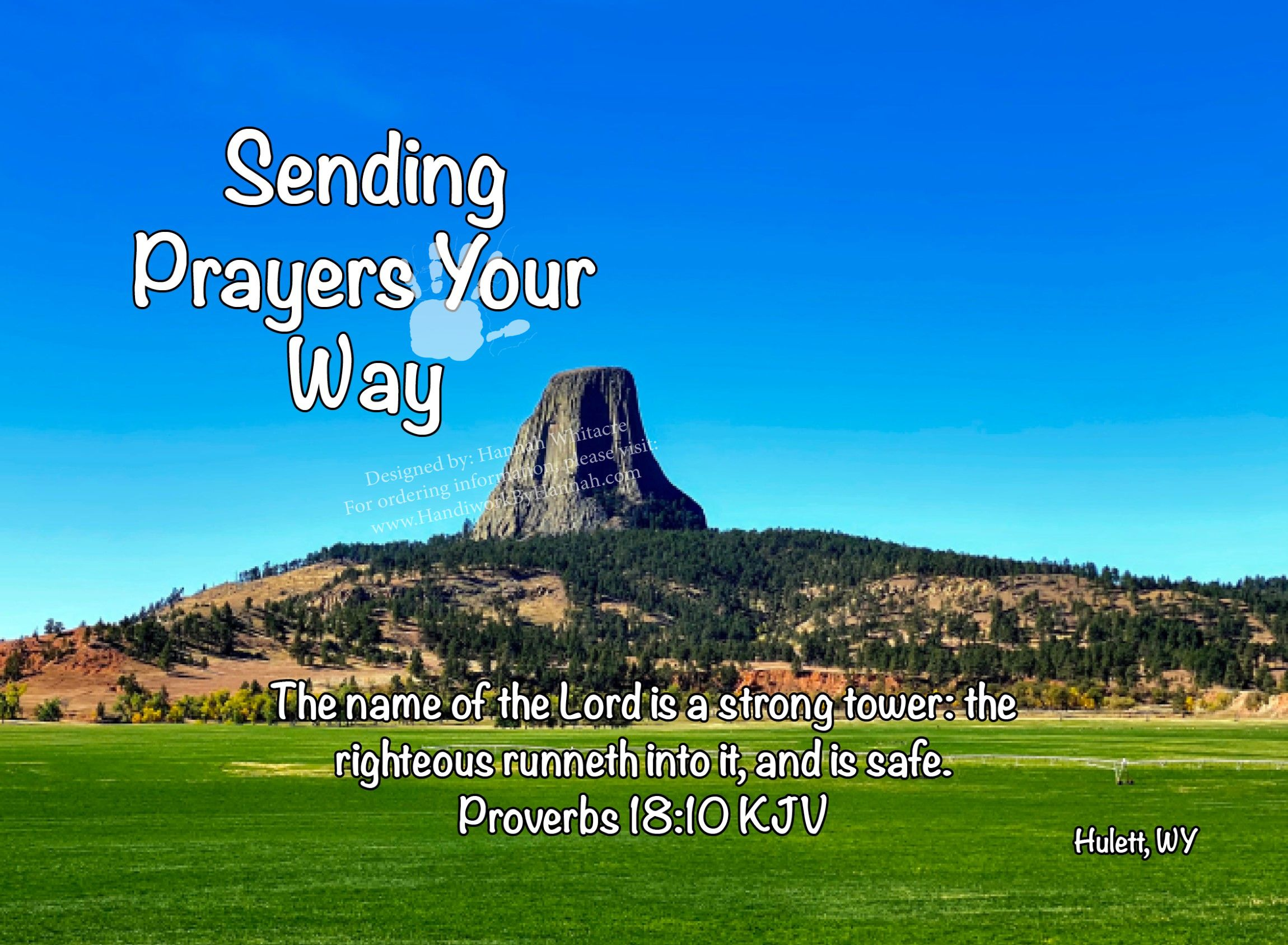 """Featured image for """"Rock Tower (CARD-0055) – 10 Cards"""""""