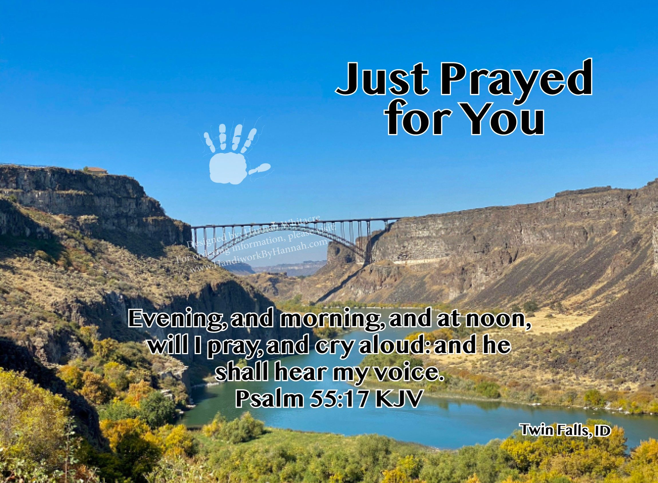 """Featured image for """"Canyon Bridge (CARD-0056) – 10 Cards"""""""