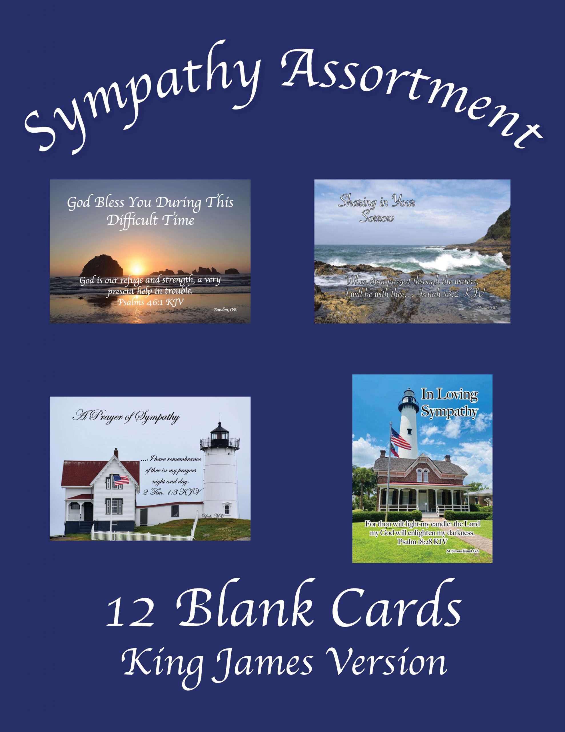 """Featured image for """"Sympathy Assortment (Pack 2) – 12 Cards"""""""